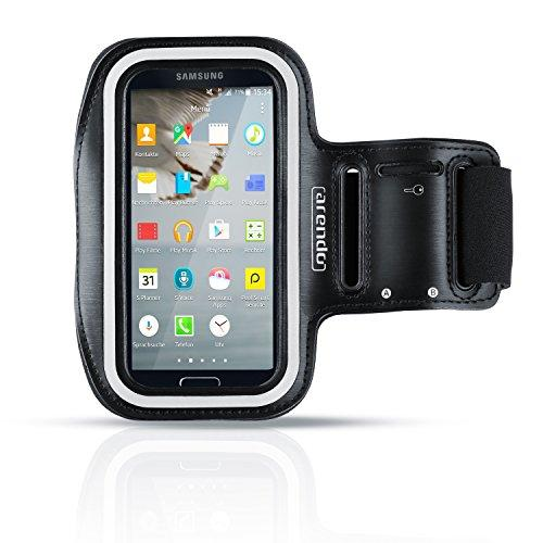 Arendo - Soporte Para Bicicleta Impermeable Para Samsung Galaxy S4