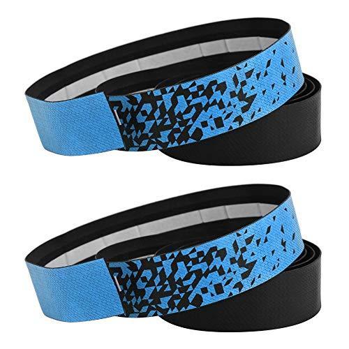 Cinta De Manillar Azul Y Negro
