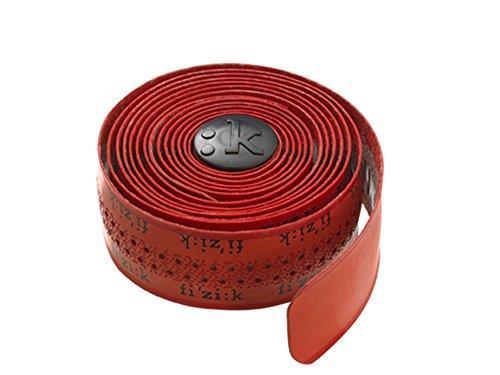 Cinta De Manillar Fizik Superlight Tacky Rojo Logos